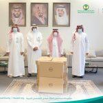 كلنا عطاء مبادرة من وزارة الإتصالات و تقنية المعلومات بالشراكة مع مؤسسة وريف الخيرية